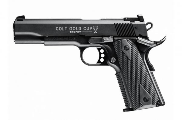 "Pistolet WALTHER COLT 1911 Gold Cup Trophy 5"" cal.22 Lr"