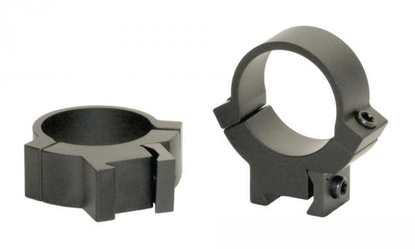 Montage acier WARNE pour carabine 22Lr rail de 11mm diamètre 25.4mm (Medium)