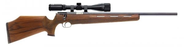 Carabine 22LR WEIHRAUCH HW 66 Jagd Match avec lunette HAWKE Varmint 4-16x44 Mildot