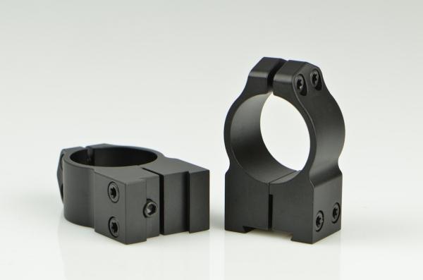 Montage WARNE CZ 527 diam�tre 25.4mm (Haut)