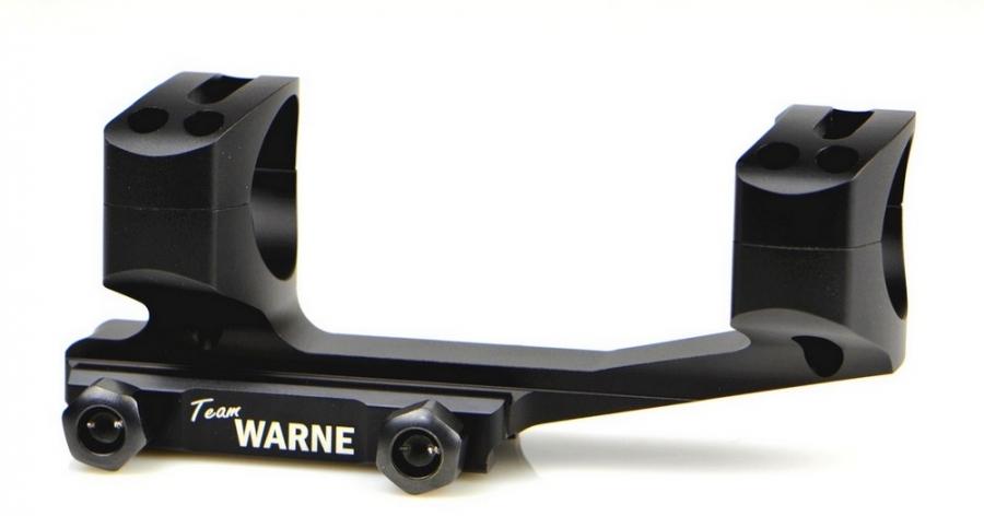 Montage Tactical WARNE AR15 diamètre 34mm - rail Weaver 21mm (BH 21mm) Noire