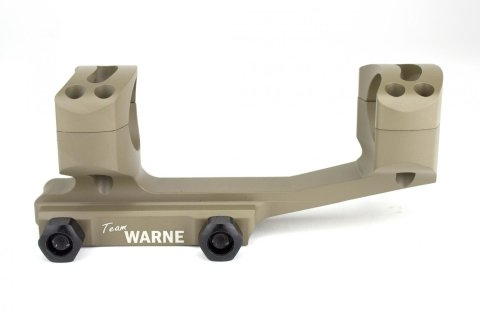 Montage Tactical WARNE AR15 diamètre 30mm - rail Weaver 21mm (BH 21mm)