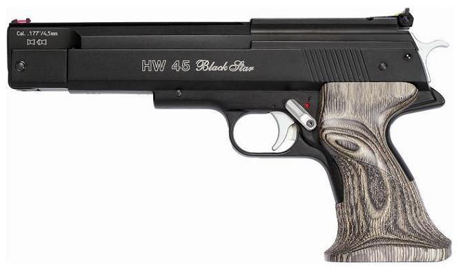 Pistolet à plombs WEIHRAUCH HW 45 Black Star