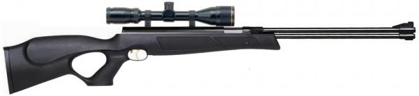 Carabine � air comprim� WEIHRAUCH HW 77 Black Line ''lunette BAUER 3-9x40''