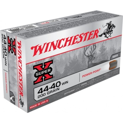 Winchester 44-40 Win Power Point 200gr