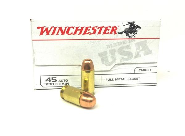 WINCHESTER cal.45 ACP FMJ /100