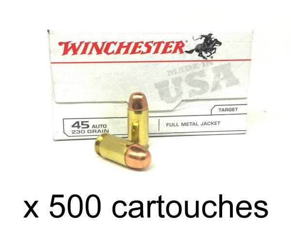 WINCHESTER cal.45 ACP FMJ /500