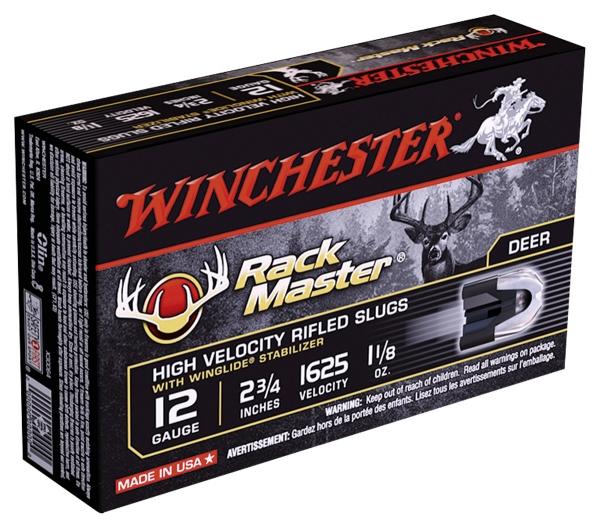Balles WINCHESTER Slug Supr�me Rack Master cal.12/70 (boite de 5)