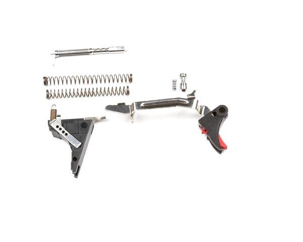 """Bloc détente match ZEV Technologies """"Ultimates"""" Glock 17-19-26-34 génération4 (rouge)"""