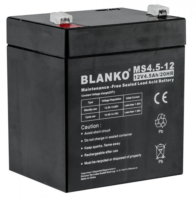 Batterie rechargeable BLANKO pour agrainoir 12V