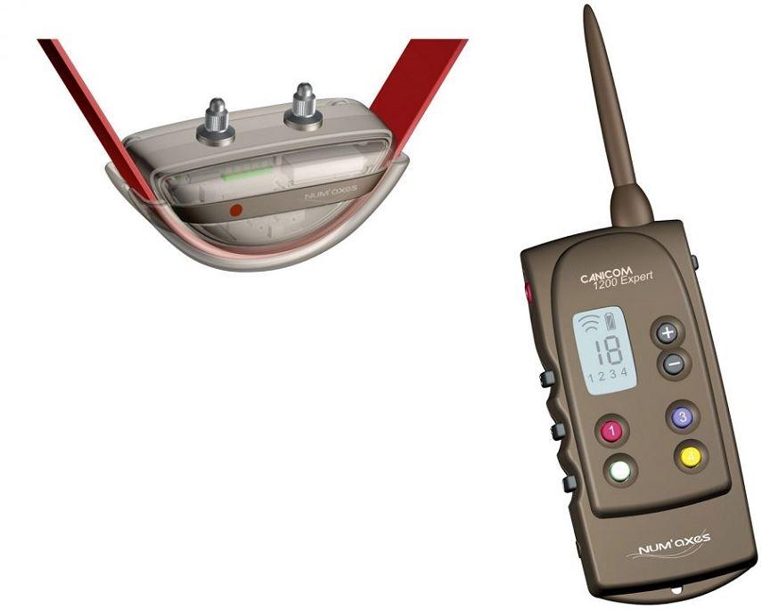 Collier de dressage Canicom 1200 Expert NUM'AXES