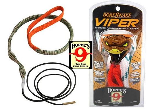 Cordon de nettoyage boresnake cal.22 Lr - 222 rem (5,56mm) HOPPE'S VIPER