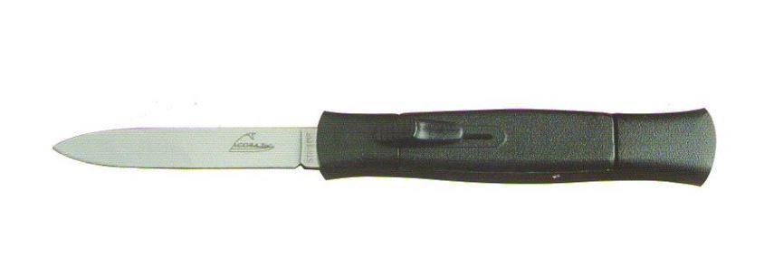 Couteau Automatique Noir 12 cm