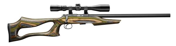 Carabine 17HMR CZ 455 EVOLUTION GG avec lunette HAWKE Varmint 4-16x44 Mildot