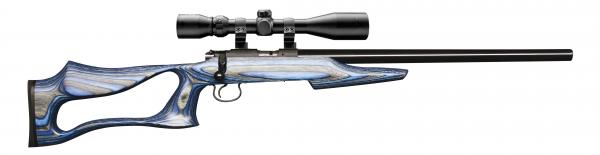 Carabine 22LR CZ 455 EVOLUTION avec lunette HAWKE Varmint 4-16x44 Mildot