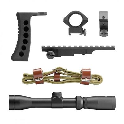 Kit Deluxe rail + lunette 2-7 x 32 pour Mosin Nagant