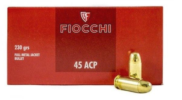FIOCCHI cal.45 ACP FMJ