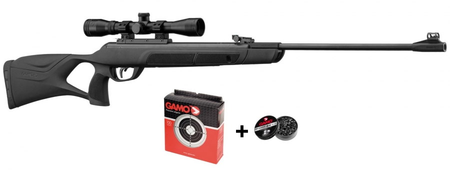"""Carabine GAMO G-Magnum 1250 cal.5,5mm ''PACK Extreme"""" (36 joules)"""