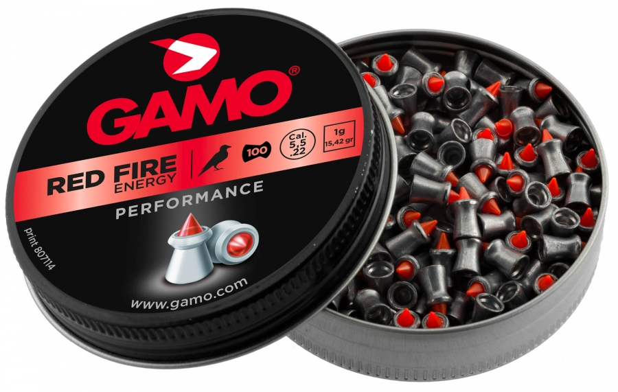 Plombs 4.5 Gamo RED FIRE Performance (0.51gr) x125