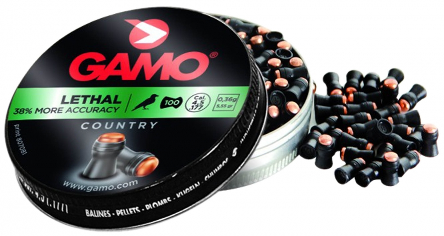 Plombs 4.5 Gamo LETHAL Country (0.36gr) x100
