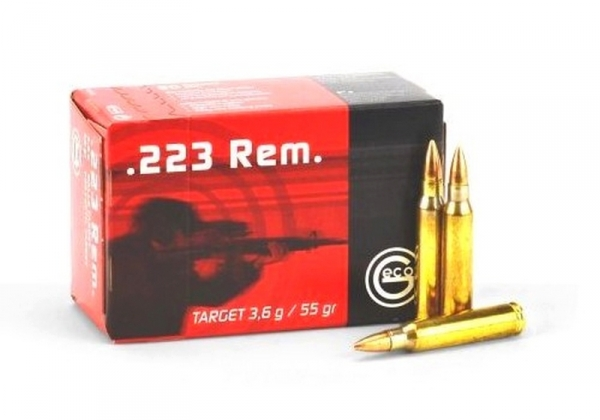 GECO cal.223 Rem Target FMJ VM / 50 cartouches