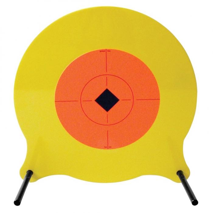 Gong métallique au sol BIRCHWOOD pour 22 LR à 45 ACP