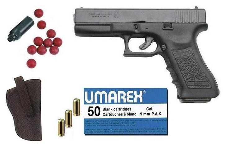 Kit Défense Pistolet BRUNI GAP ''type GLOCK'' Bronzé Cal.9mm