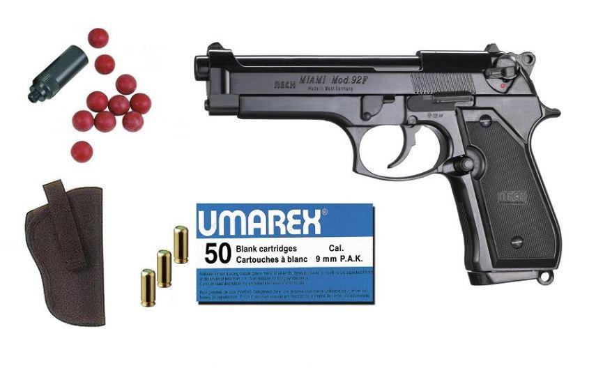 Kit D�fense Pistolet RECK BERETTA 92F Miami Bronz� cal.9mm PA UMAREX