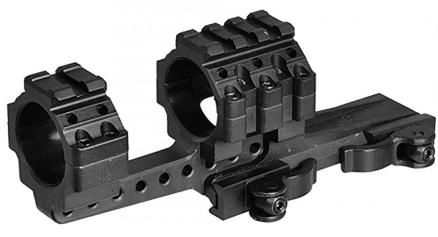 Montage monobloc Tactical UTG Détachable diamètre 30 mm - Rail de 21 mm (BH22mm)