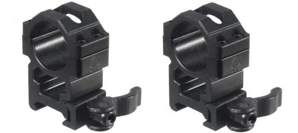 Montage UTG Maxima Haut Détachable diamètre 25.4 mm - Rail de 21 mm (BH22mm)