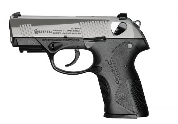 Pistolet BERETTA PX4 Compact F INOX calibre 9x19
