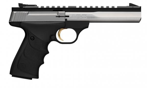 Pistolet BROWNING Buck Mark CONTOUR Stainless URX calibre 22Lr