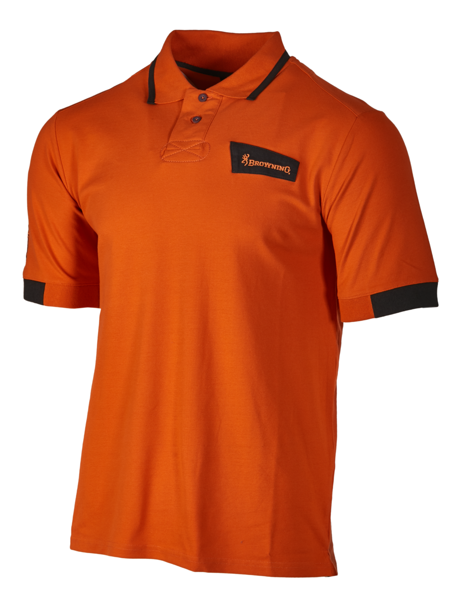 Polo manches courtes BROWNING ULTRA Orange foncé taille.XXL