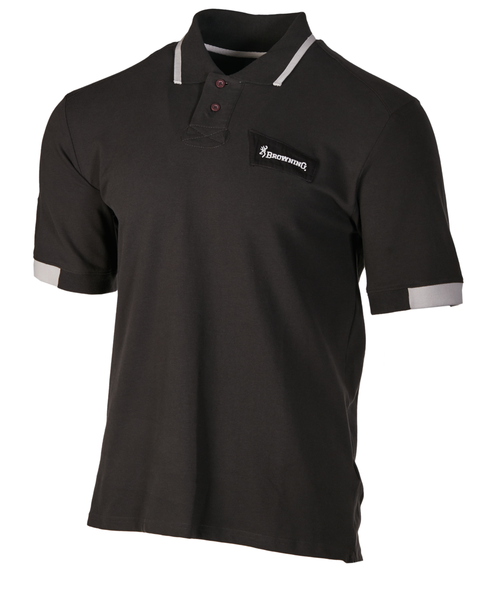 Polo manches courtes BROWNING ULTRA Anthracite taille.M