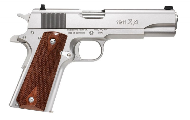 Pistolet REMINGTON 1911 R1S INOX cal.45 ACP