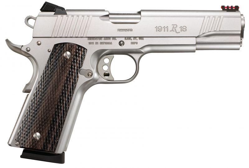 Pistolet REMINGTON 1911 R1 Enhanced INOX cal.45 ACP