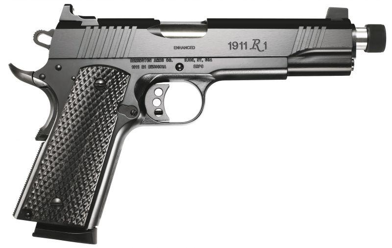Pistolet REMINGTON 1911 R1 Enhanced Fileté cal.45 ACP