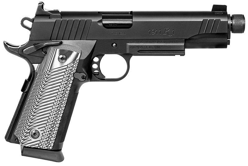 Pistolet REMINGTON 1911 R1 Tactical Fileté cal.45 ACP