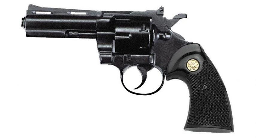 Revolver KIMAR Python Bronzé Cal.9mm R