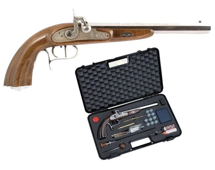 Pistolet NAPOLEON LEPAGE Silver CHIAPPA cal.45