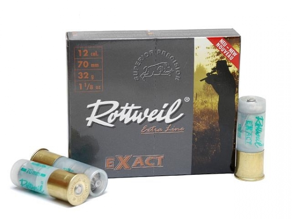 Balles ROTTWEIL Exact cal.12/70 (boite de 10)