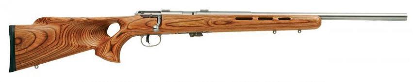 Carabine 22LR SAVAGE Varmint Lamellé Thumbhole Stainless MARK II BTVSS