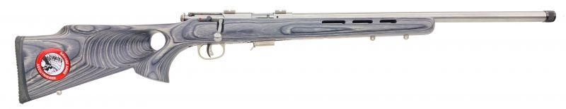Carabine cal.17 HMR SAVAGE Varmint Lamellé Thumbhole Inox MARK 93R17 BTVSS