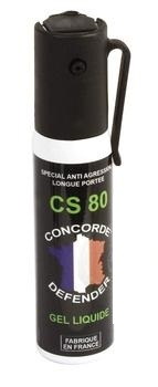 Bombe de d�fense GEL CS 80 - 25ml