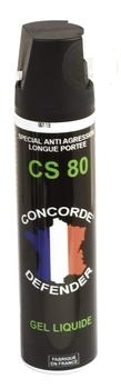 Bombe de d�fense GEL CS 80 - 75ml