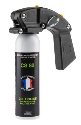 Bombe de défense GEL CS 80 - 100ml avec poignée