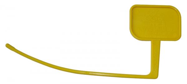 T�moin de chambre pour carabine de tir (jaune)