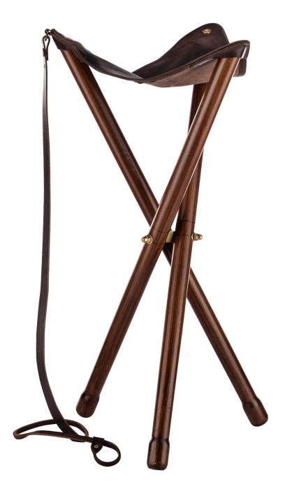 Trépied COUNTRY Tabouret Pliant Bois 45 cm