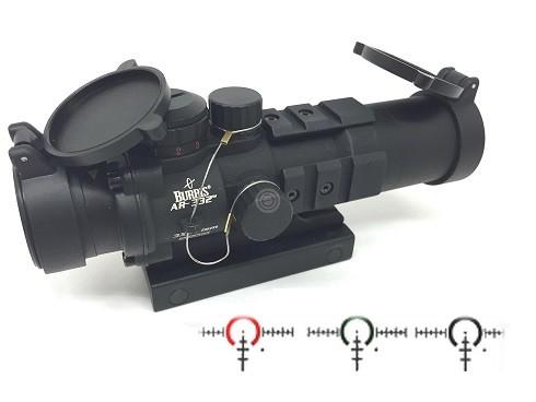 Point rouge tactical BURRIS AR-332 Ballictic AR 3X
