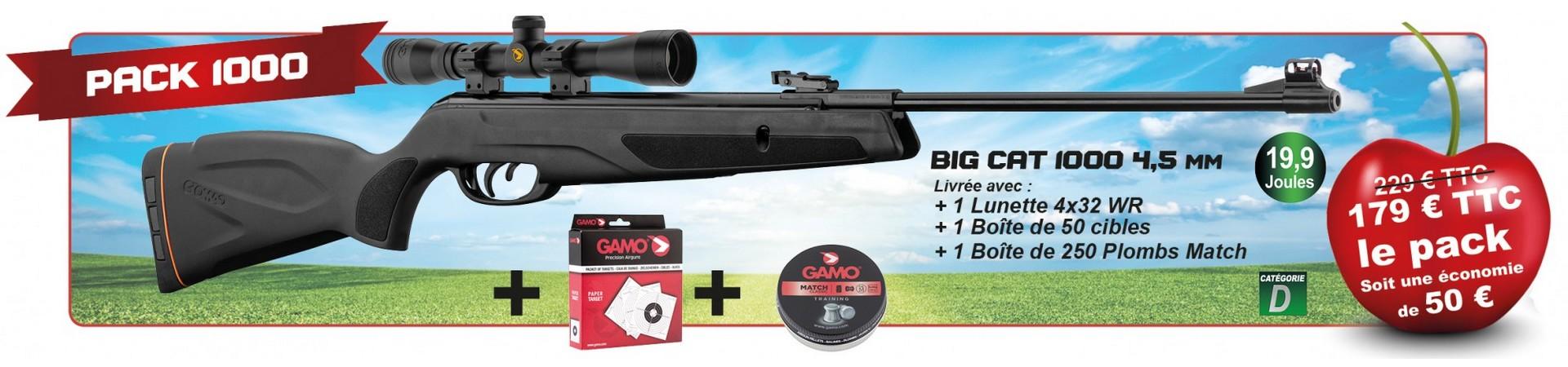 carabine � plombs Pack cerise 2019 GAMO